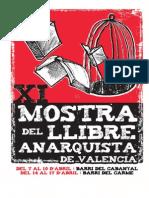 XI Mostra del Llibre Anarquista de València