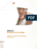 DISPLAX Overlay Multitouch User Guide