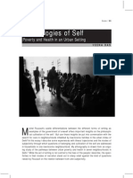 Das (2003) Technologies of the Self