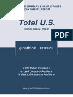 2004Annual Total Venture Capital Report