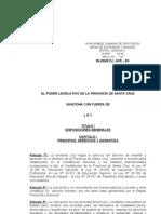 115-PJ-UCR-EC-11. ley de educacion provincia santa cruz