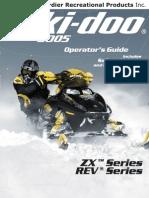2005 Skidoo Operator's Manual