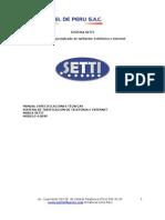 Manual Tecnico Hardware Setti
