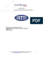 Manual Tecnico Hardware Setti