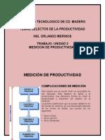 UNIDAD 2 MEDICI+ôN DE PRODUCTIVIDAD