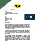 Carta PDA Duque