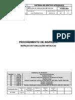 PI-MV-004-INSPEÇÃO DE TUBULAÇÕES METÁLICAS