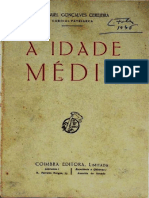 A Idade Média Na História Da Civilização - Cardeal Manuel Gonçalves Cerejeira, 1953