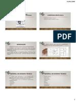 Aula 01 -Desenho Técnico Slides e Atividade