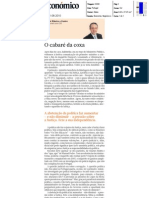 O cabaré da coxa - artigo Diário Económico, 11-ago-2010