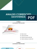 ANALISIS CORREDORES DAVIVIENDA