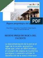 ACICI 2007 - Higiene prequirurgica del paciente