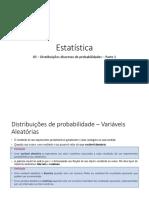05 - Distribuições discretas de probabilidade - Parte 1