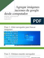 Paso a Paso Presentaciones de Google Parte III Con Computador 6 Año Basico