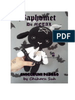 Baphomet Amigurumi Padr 227 o by Chiharu Suh