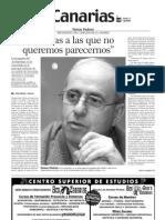 Entrevista a Tomás Padrón