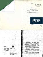 Problemas de la composición cinematrográfica. Sergei Eisenstein