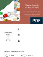 Haletos de Acila,_Aminas e Amidas (1)