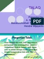 TALAK dalam Islam