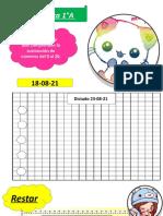1°A matemática 23-08-21
