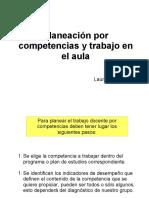 Planeación por competencias Laura Frade