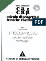 LEONHARDT - V - Il precompresso
