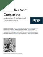 Eusebius von Caesarea – Wikipedia