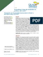 Mota et al_Uso terapêutico_produto a base de canabidiol_Brasil_2019