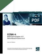 CCNA4_Skill Based Answer