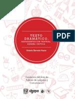 Texto Dramatico Octavio Barreda Hoyos