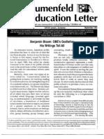 The Blumenfeld Education Letter September_1993