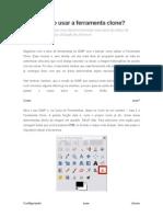 Tutorial GIMP Como Usar a Ferramenta Clone