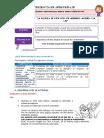 FICHA DE TRABAJO RELIGIÓN D4