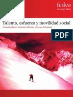 Talento, esfuerzo y movilidad social