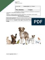 Ciencias Los Animales 1b