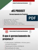 5. MS Project SLIDES - Gestao de Projetos (33 Pg)