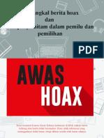 Materi_Anti_Hoax dan kampanye hitam