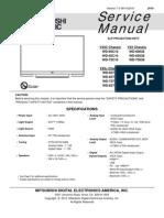 MITSUBISHI_WD738_Service_Manual