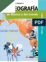 Geografía de México y el Mundo Vol. II (Libro para el Maestro de Telesecundar)