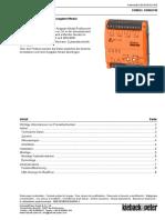 FBM024 Und FBM024W Ausgabe-Modul