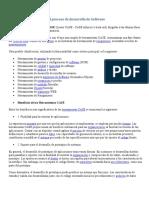 Herramientas CASE para el proceso de desarrollo de Software