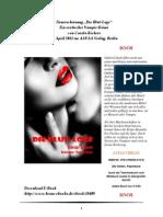 """Press Release """"Die Blut-Loge"""" von Carola Kickers"""