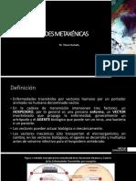 14 15 Enfermedades Metaxenicas y Zoonosis. Dr Steve Hurtado
