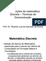 Tema1 Noções de Matemática Discreta - PCS5701-2015-1