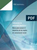 Indicadores de Desarrollo Mediatico-UNESCO