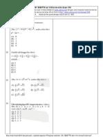 Soal Matematika UMSNMPTN campuran set 18