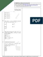 Soal Matematika UMSNMPTN campuran set 19