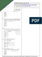 Soal Matematika UMSNMPTN campuran set 20