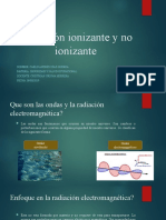 Radiación ionizante y no ionizante