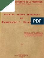 CORFO. (1940). Plan de Acción Inmediata Para El Trasnporte